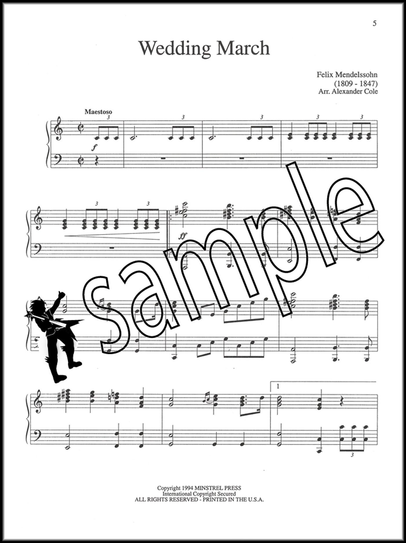 Bridal Chorus Wedding March Richard Wagner Piano Solo Masterpiece Edition S02