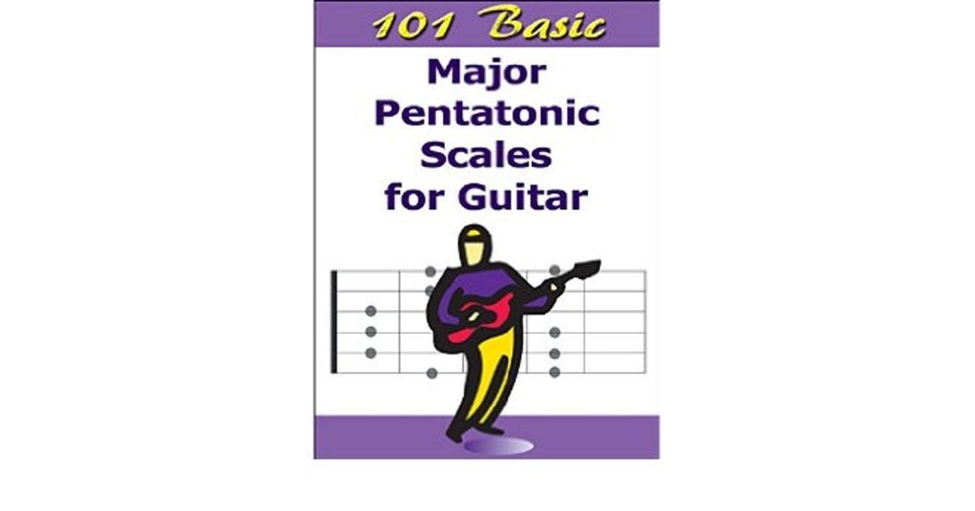 101 Basic Major Pentatonic Scales For Guitar Handy Slim Case Book S94