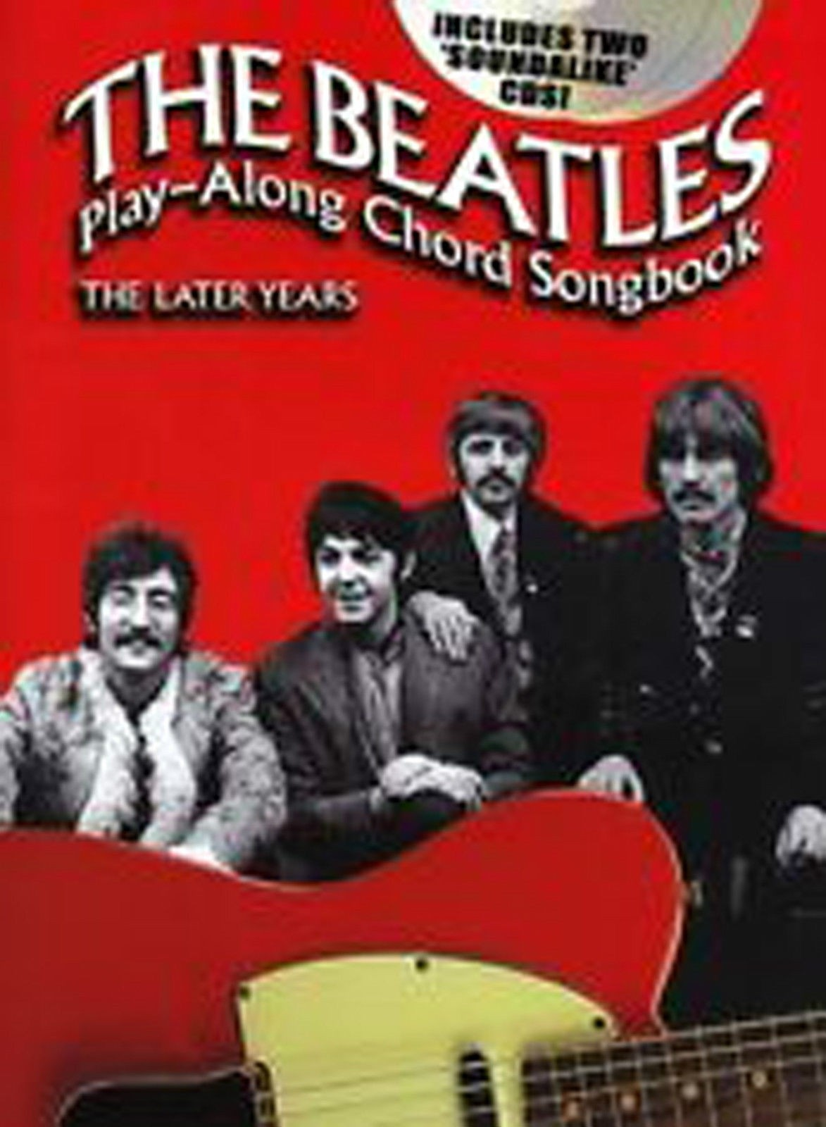The Beatles Play-Along Chord Songbook Guitar The Later Years Book CDs B42 S163