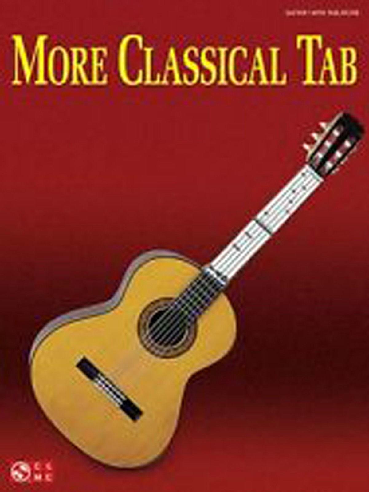 More Classical Tab Guitar Book Cherry Lane Music B44