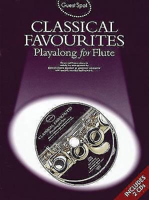 Guest Spot Classical Favourites Playalong Flute Book & 2 CDs Sheet Music B46 S90