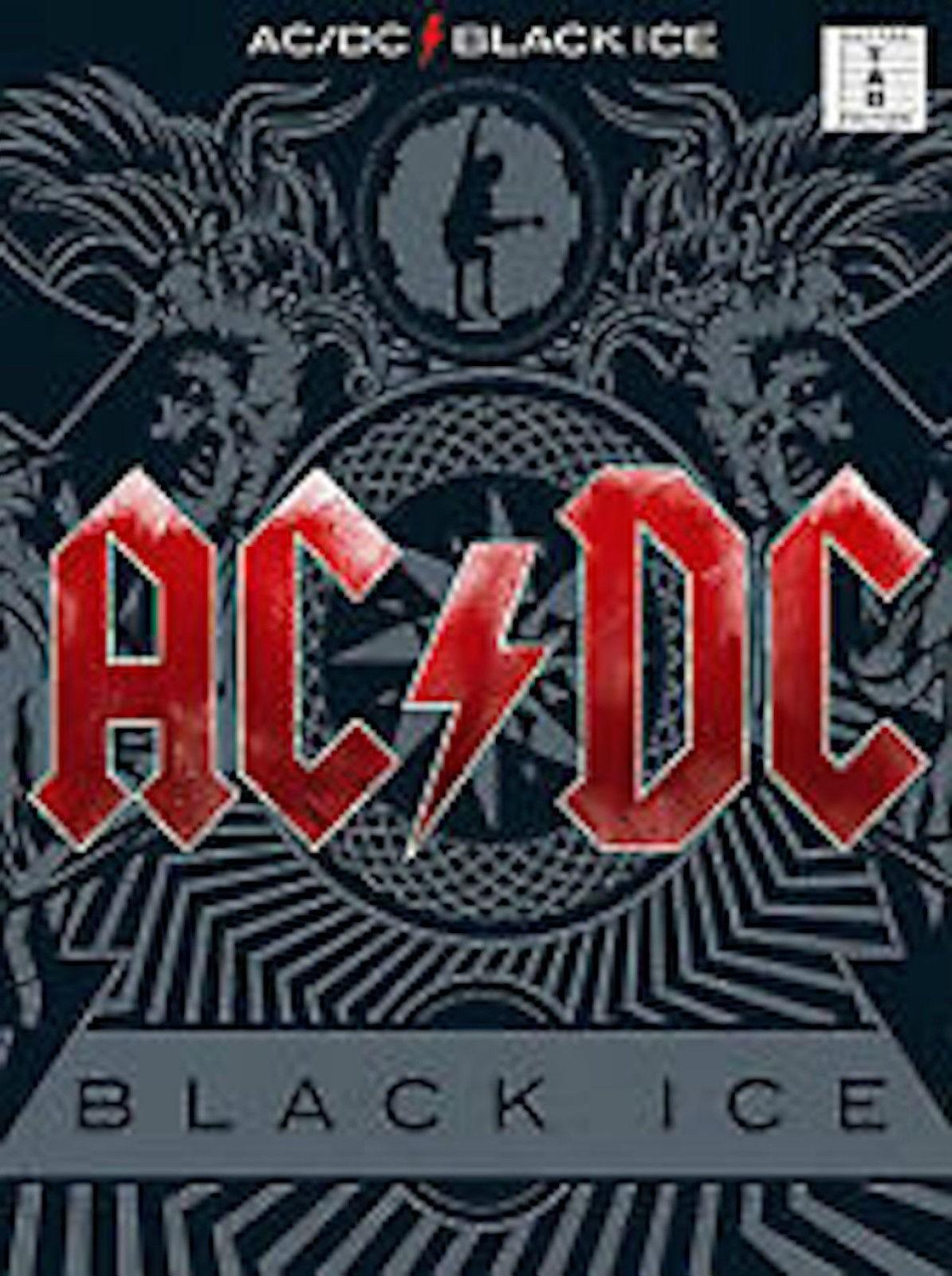 AC/DC Black Ice Guitar Tab Edition Hard Rock Songbook B55 S58