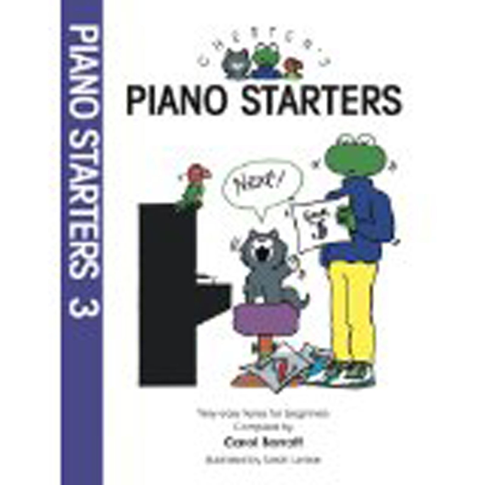 Chester's Piano Starters Book 3 Easy Grades 1-2 Tunes Beginner Childrens S98 B23