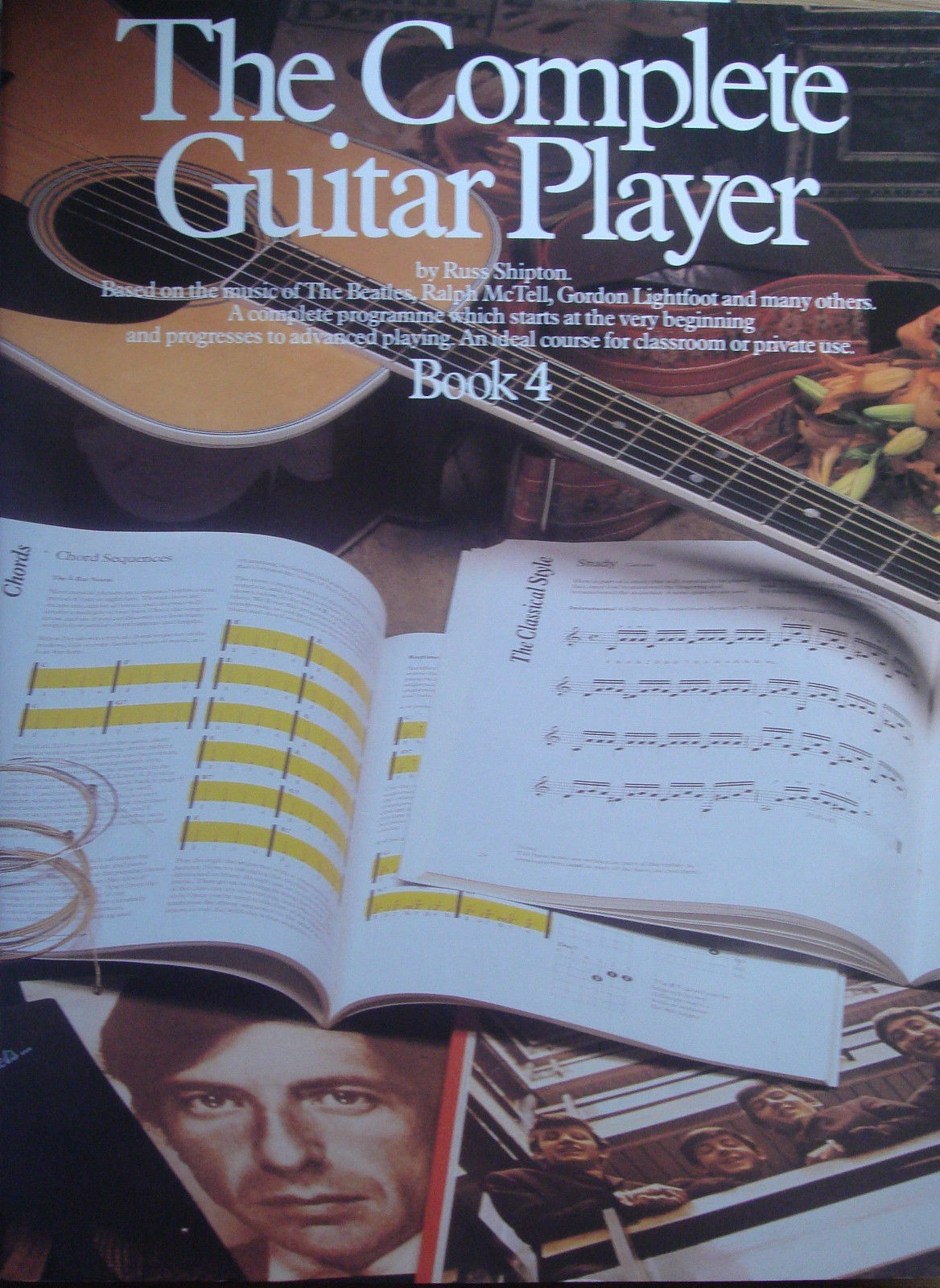 The Complete Guitar Player Book 4 Russ Shipton The Beatles Lightfoot McTell S163