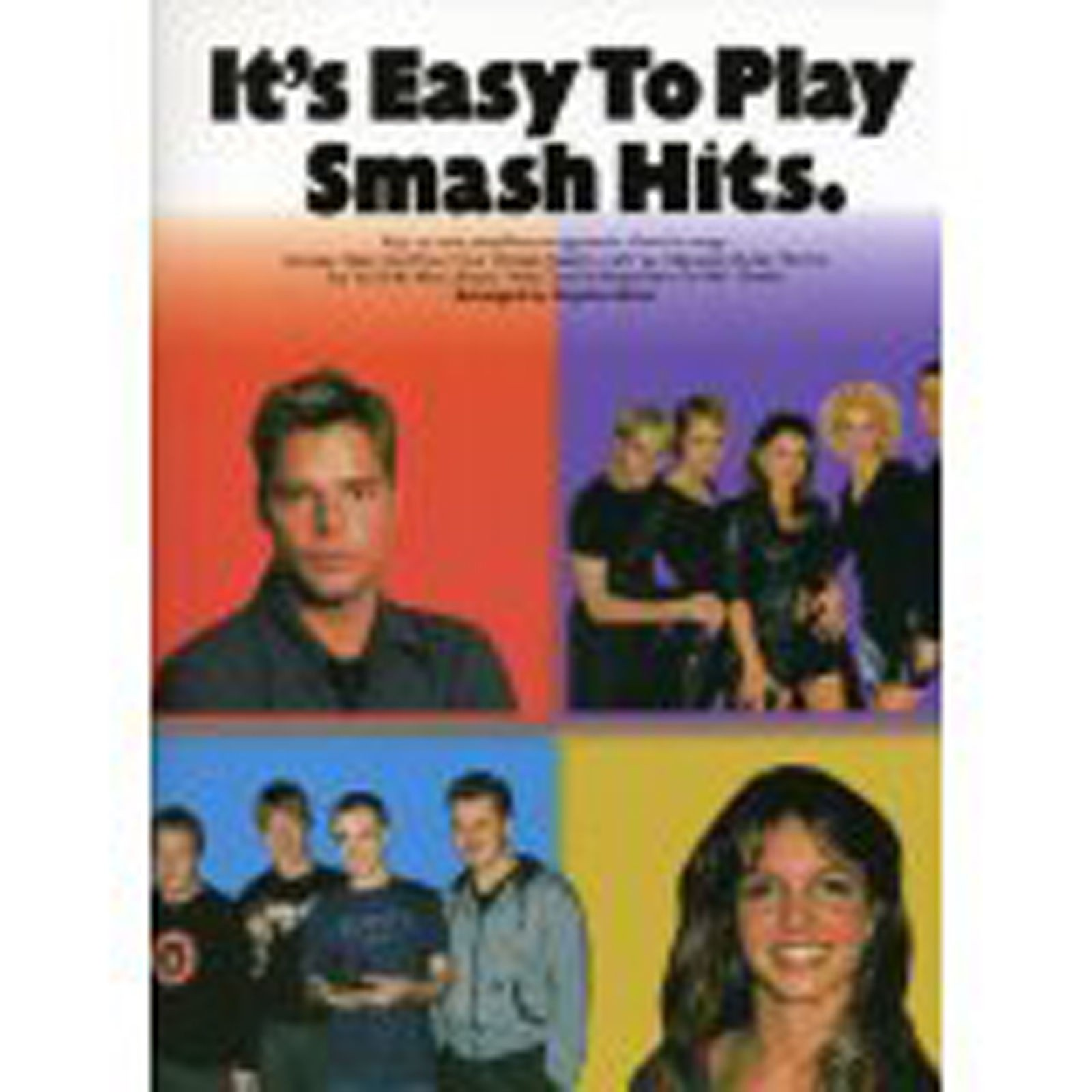 It's Easy to Play Smash Hits Piano Sheet Music Songbook Nineties Songs S15
