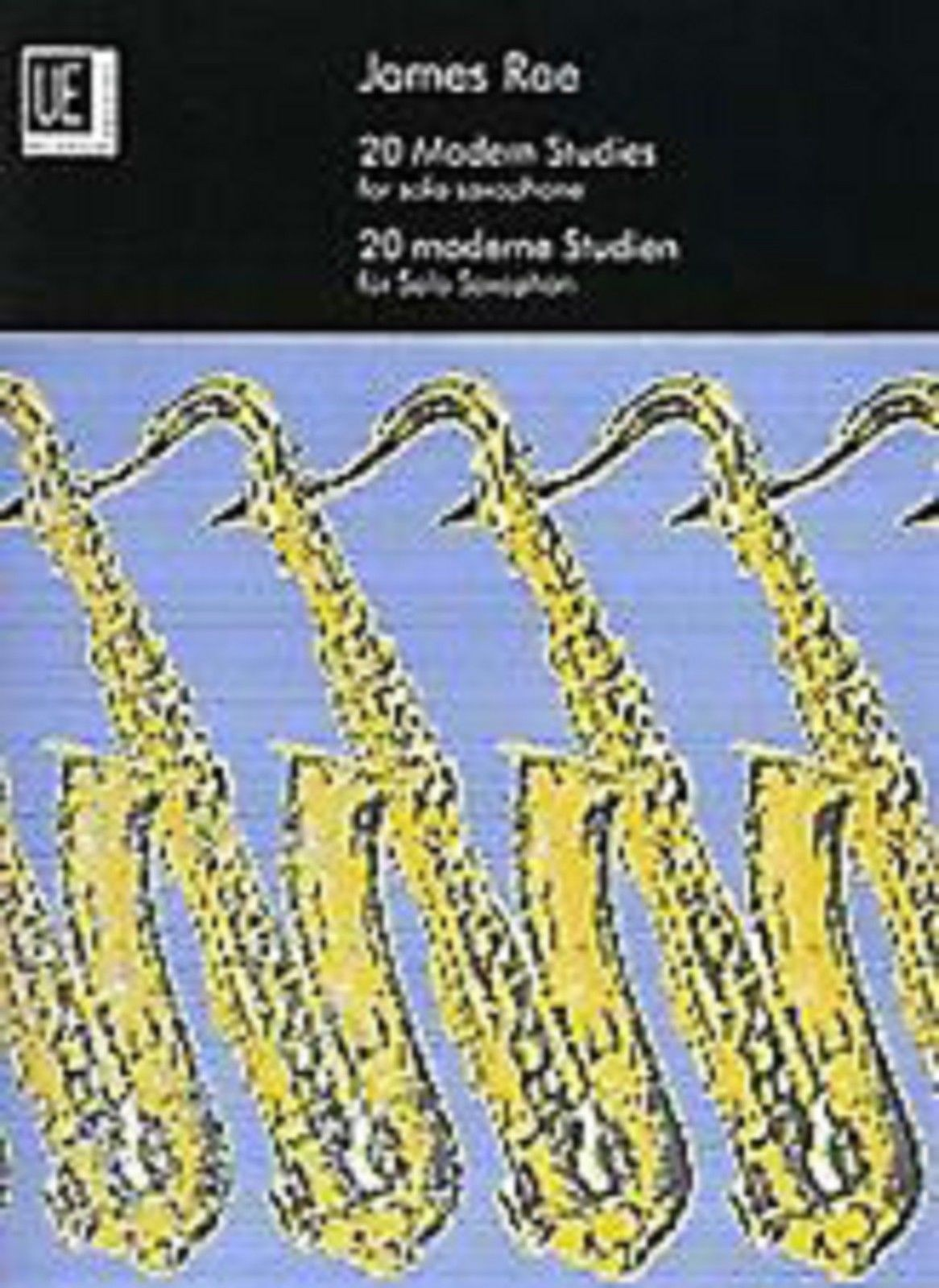 20 Modern Studies for Solo Saxophone James Rae Sheet Music Book S02