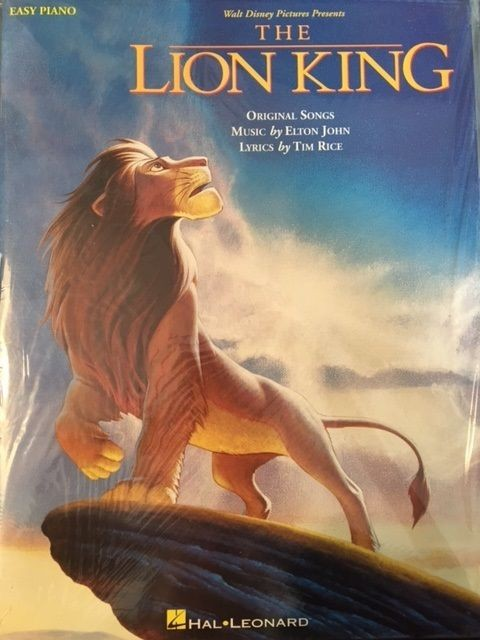 The Lion King Five Finger Piano Book Easy Disney Soundtracks Pub Hal Leonard S30