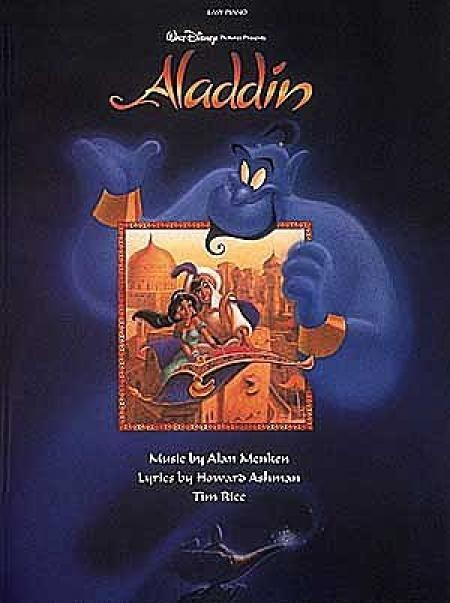 Aladdin Easy Piano Songbook Sheet Music Grade 1-3 Disney Easy S31