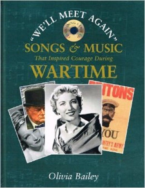 Songs and Music That Inspired Courage During Wartime Book Reference CD S47