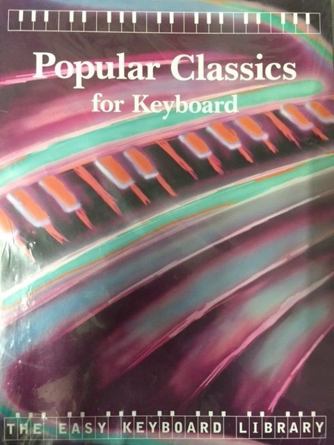 Popular Classics for Keyboard Easy Library Songbook Music Book Beginner S49 S135