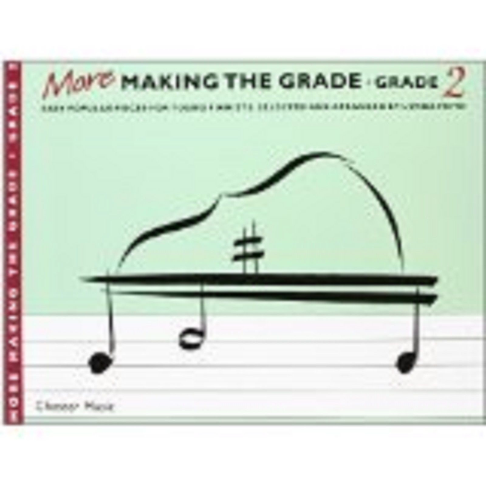 More Making The Grade Grade Two Piano Sheet Music Book Easy Popular Pieces S62