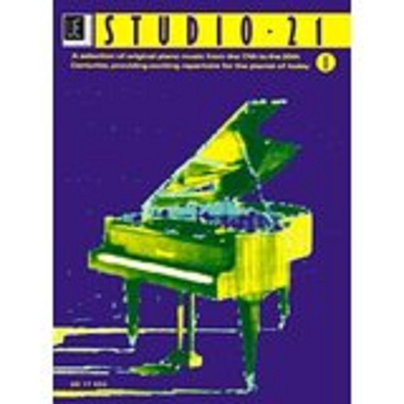 Studio 21 Piano Sheet Music Repertoire 17th-20th Century