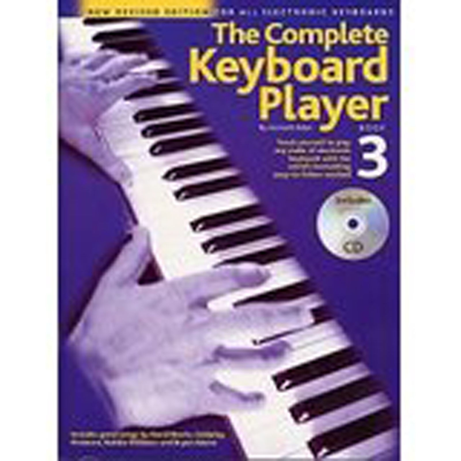 The Complete Keyboard Player Book 3 Teach Yourself Piano by Kenneth Baker S11