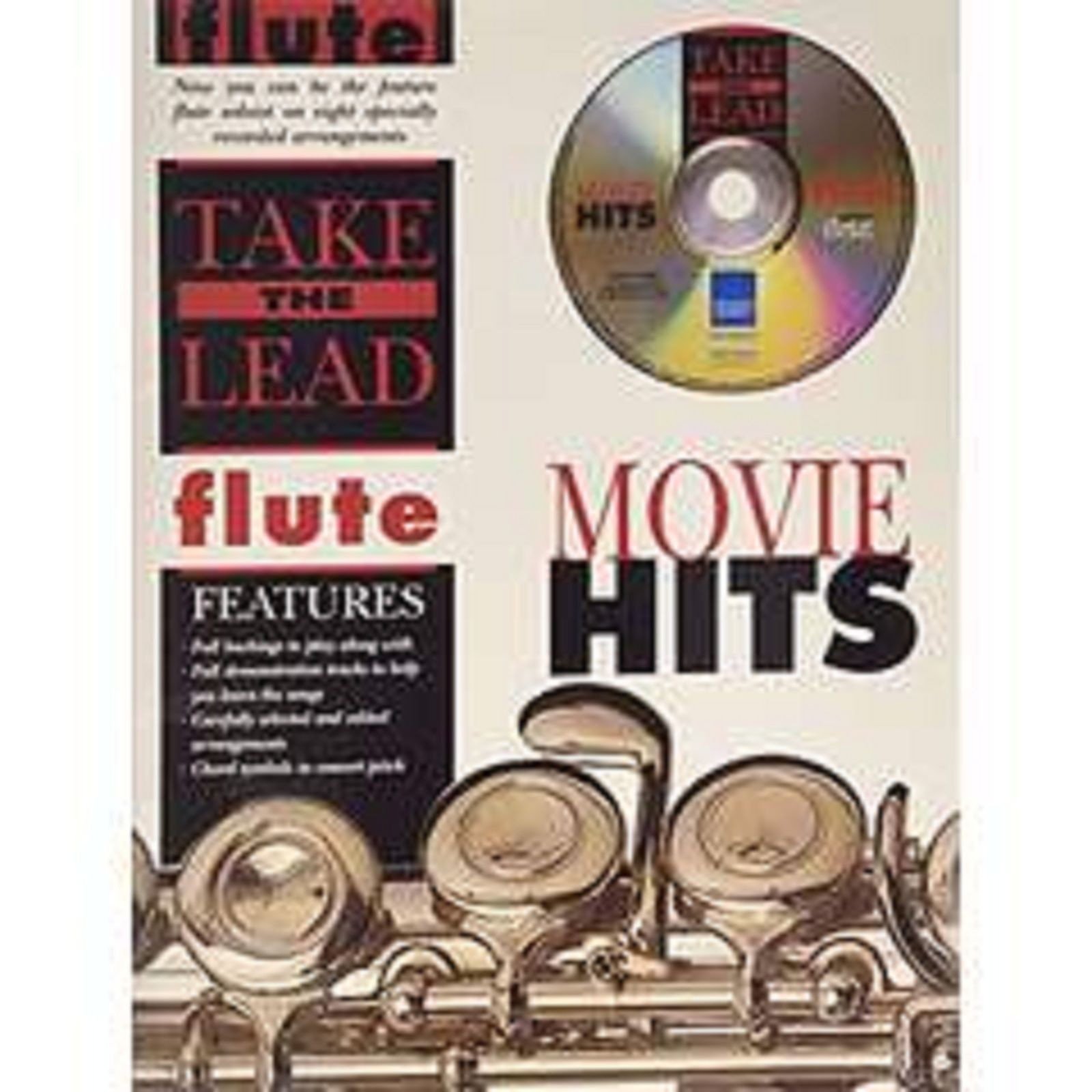 Take The Lead Movie Hits Flute Book CD Sheet Music Play Along Film Tracks S72