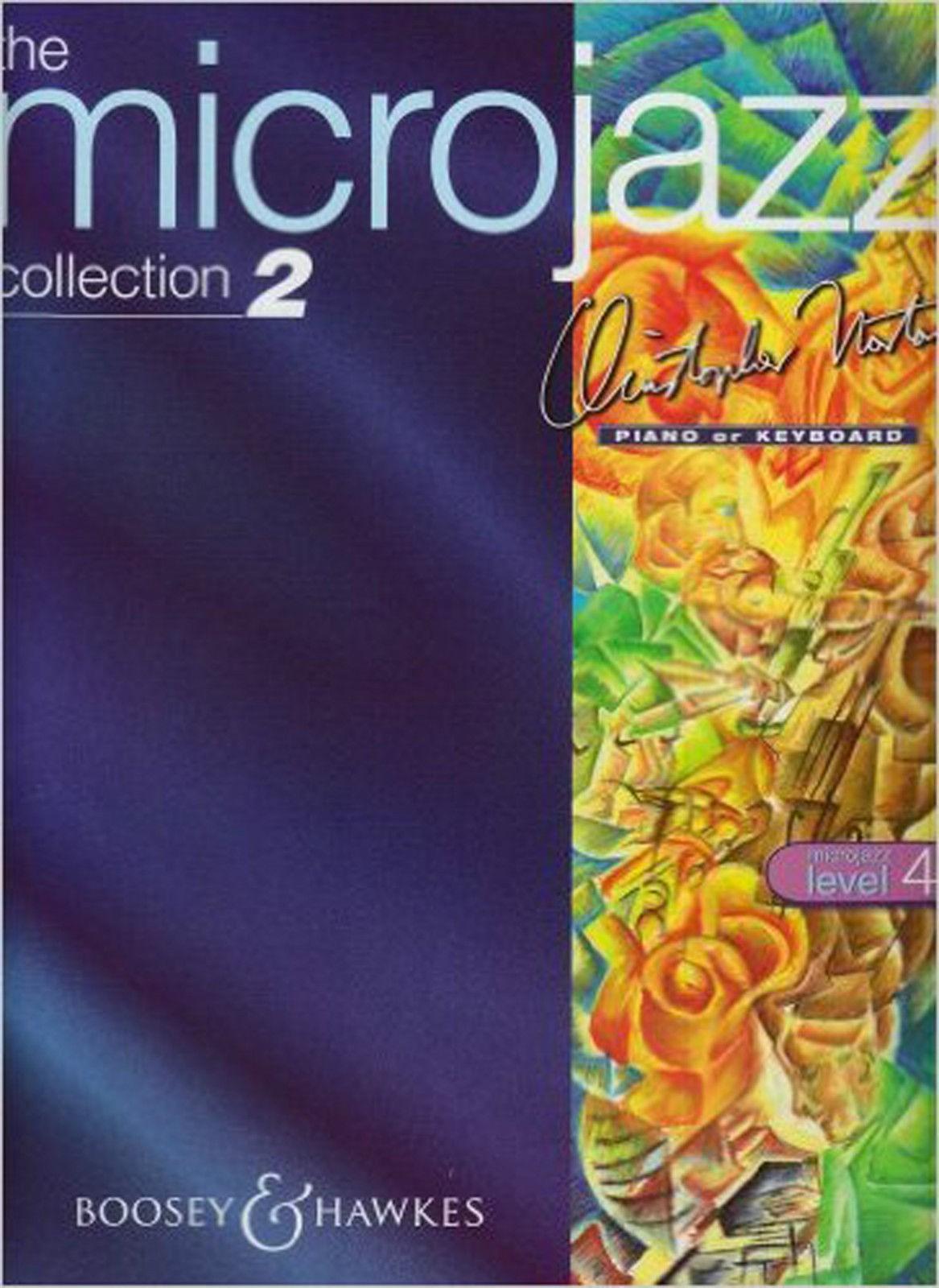The Microjazz Collection 2 Piano Level 4 Intermediate Music Book Norton S81