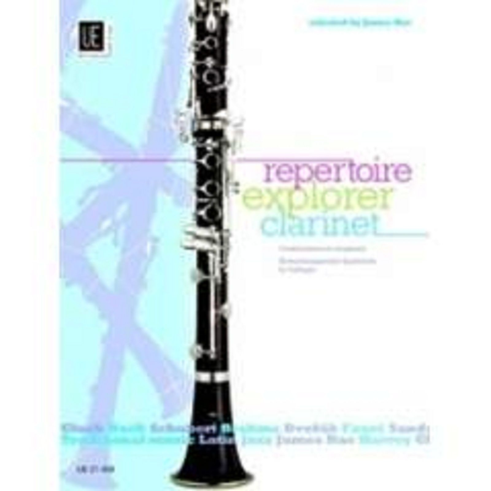 Repertoire Explorer Clarinet James Rae Sheet Music Book Grade 1-3 Pieces S83