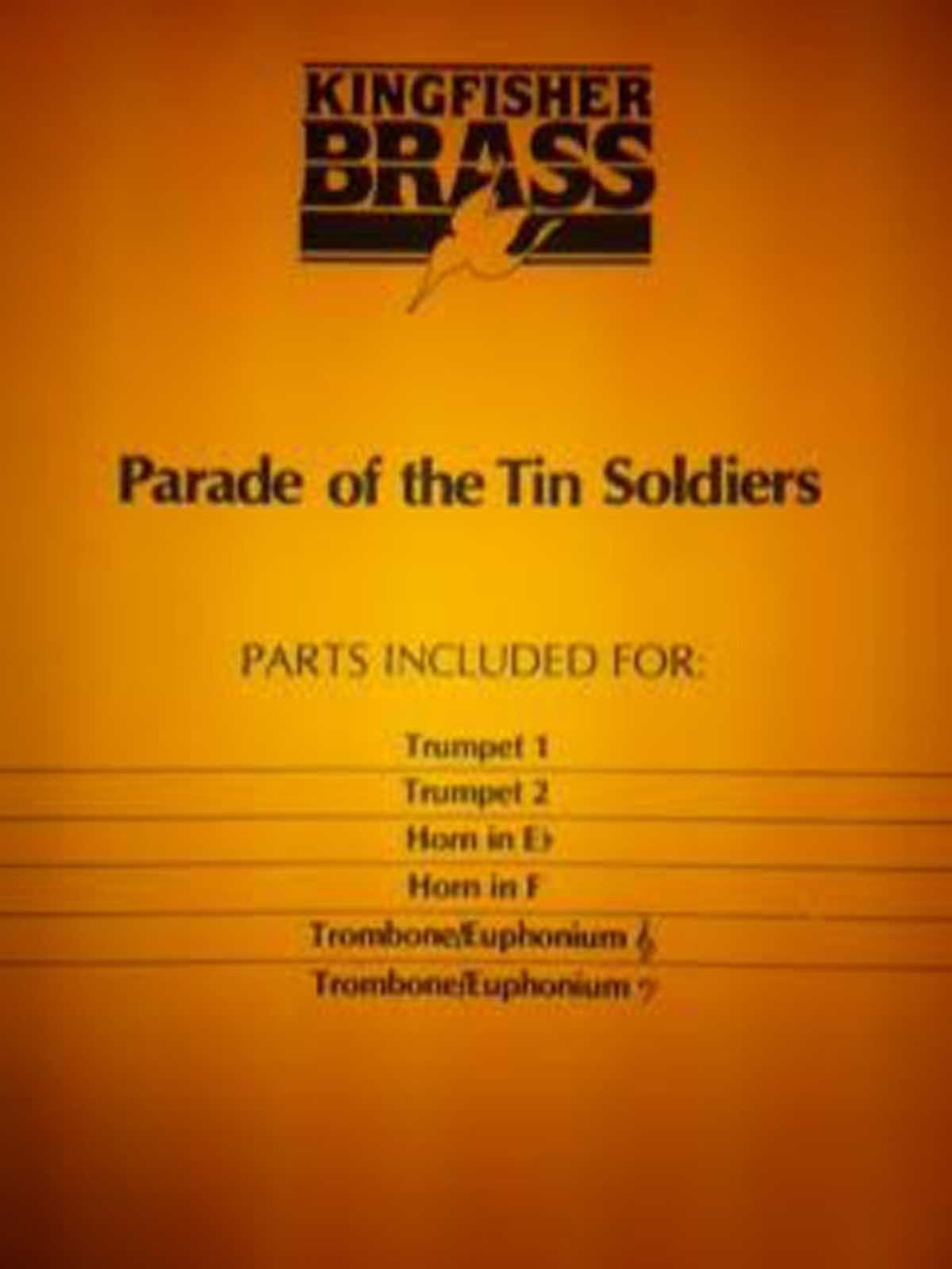 Parade of the Tin Soldiers Brass Quartet Intermediate Sheet Music Arr Hague S145