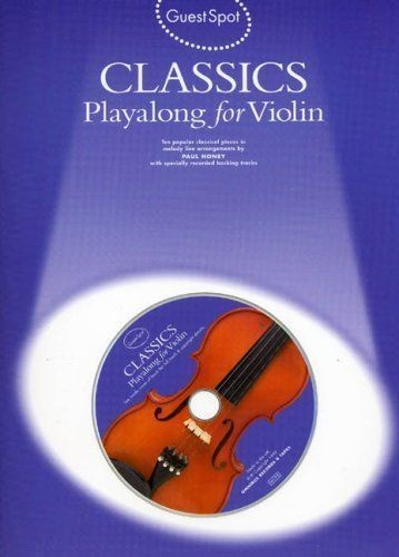 Classics Playalong For Violin CD Included Book Sheet Music Grades 2 to 4 S93