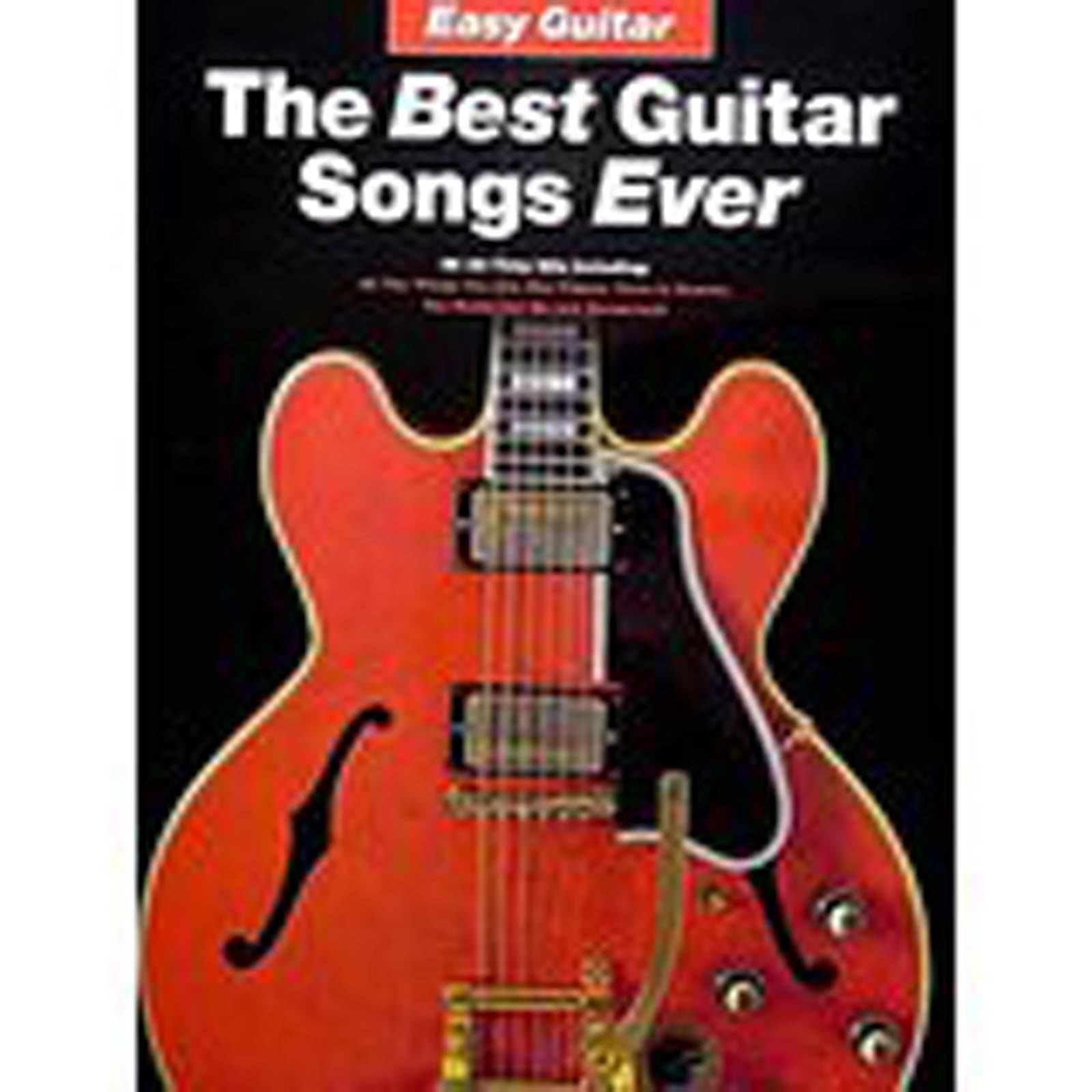 The Best Guitar Songs Ever Easy Tab Sheet Music Songbook Book BB King Kiss S74