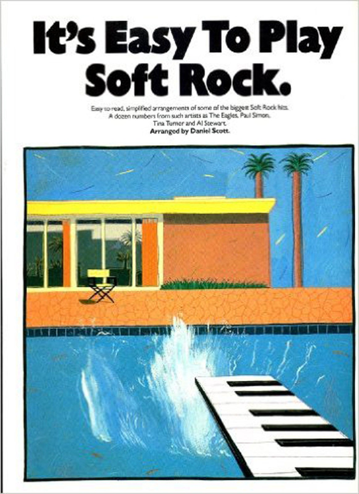 It's Easy To Play Soft Rock Piano Sheet Music Book Beginner Pieces Simplifie S98