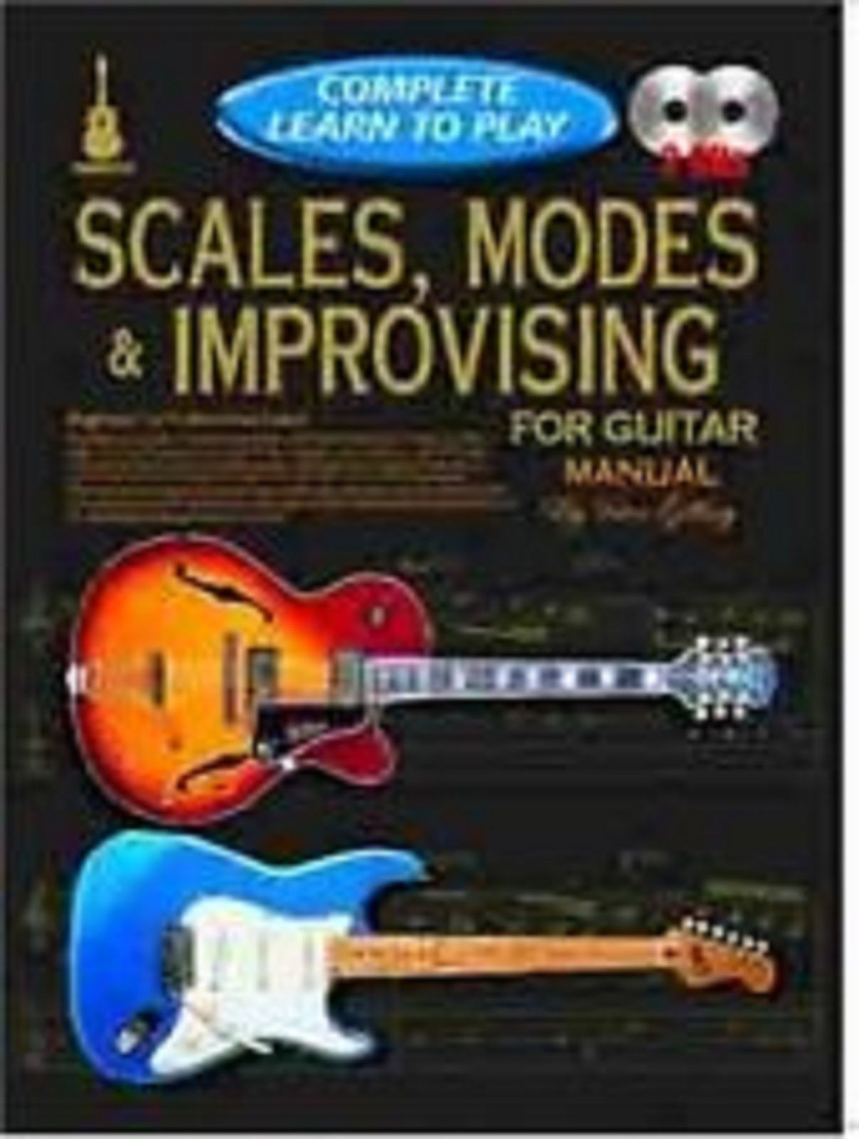 Complete Learn To Play Scales Modes & Improvising Guitar Manual Book CD S103