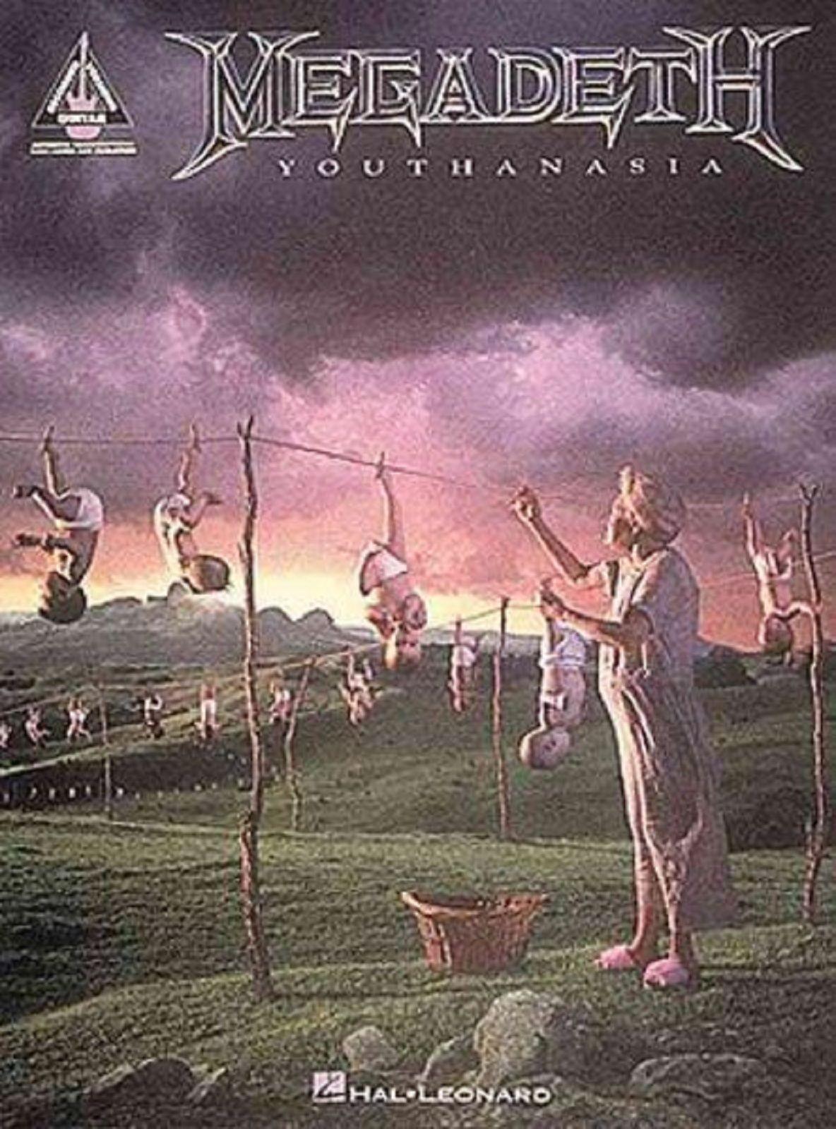 Megadeth Youthanasia Sheet Music Book Guitar Thrash Metal Family