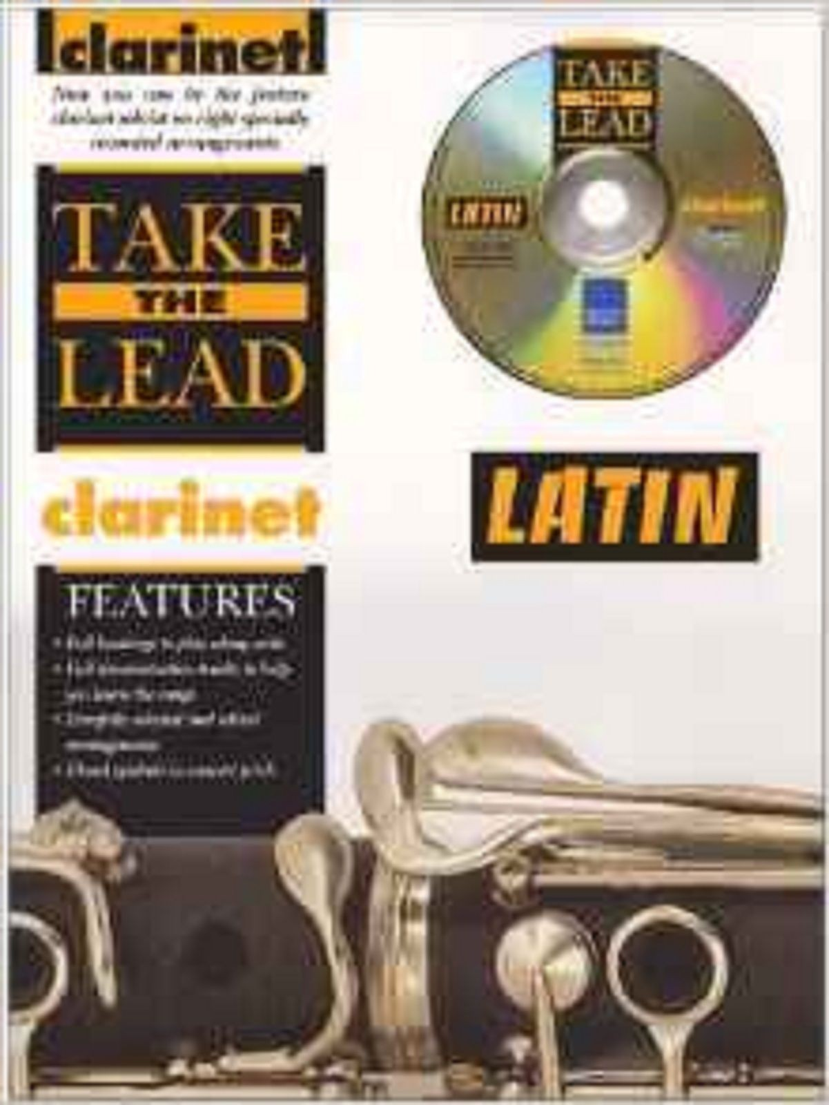 Take The Lead Clarinet Latin Solo Sheet Music Book CD Bailamos Soul Limbo S141
