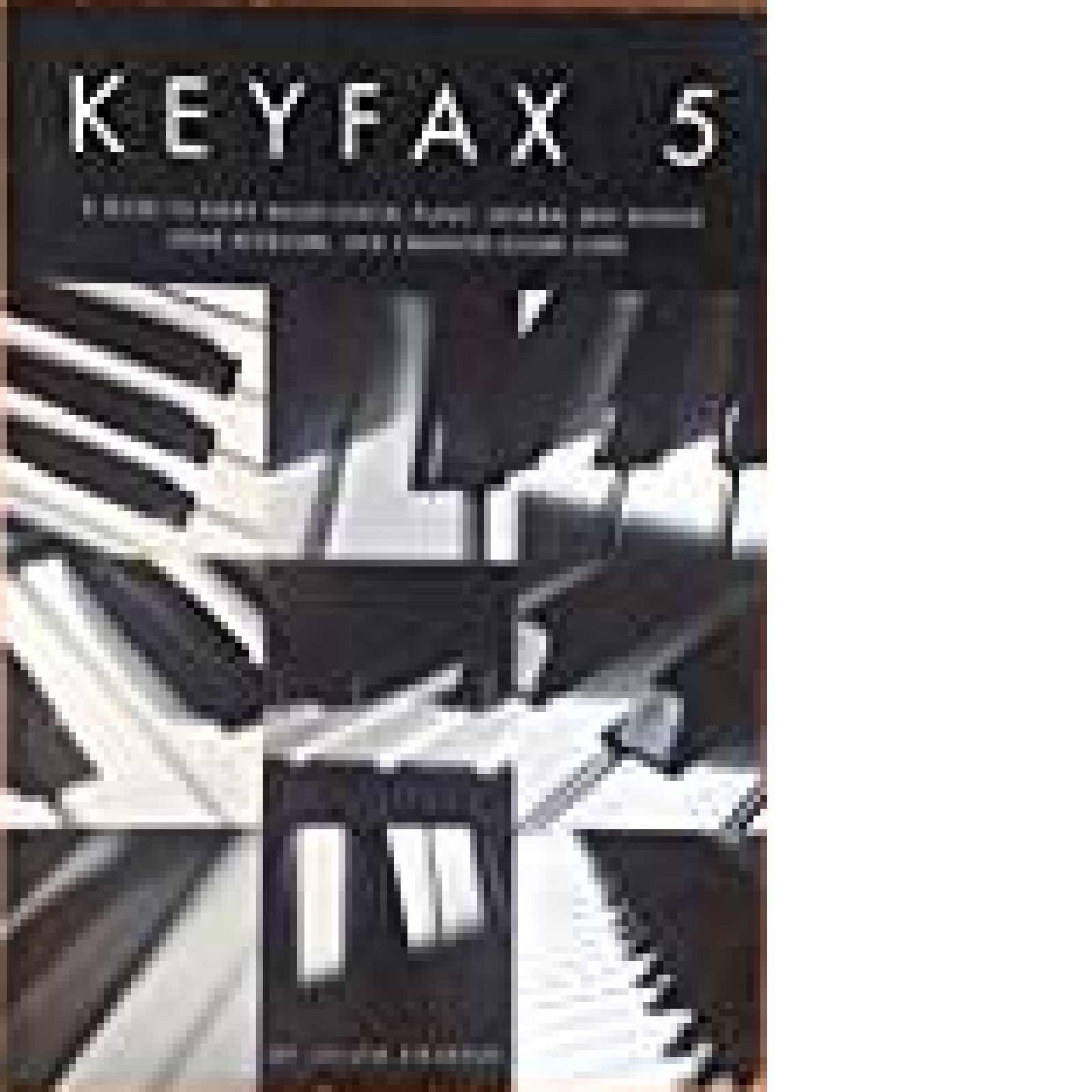 Keyfax 5 Guide To Every Digital Piano Julian Colbeck Tutor Book S144