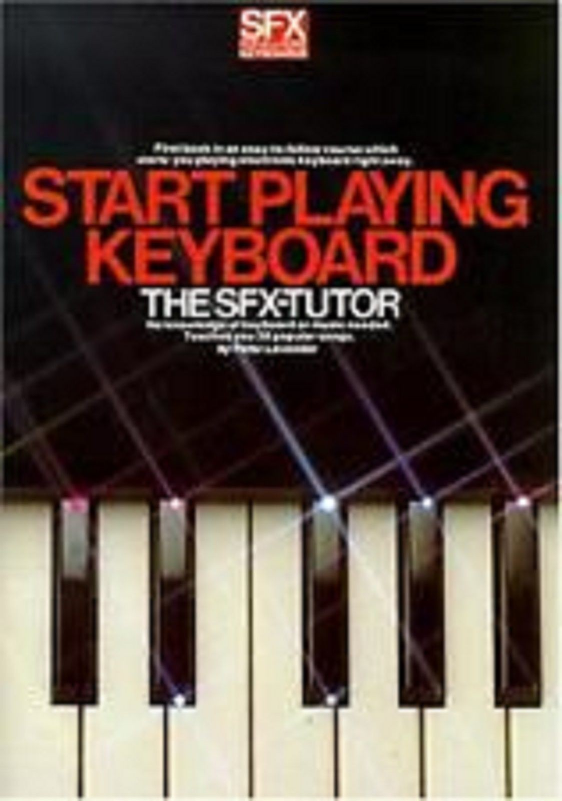 Start Playing Keyboard SFX Tutor Electronic Easy Learn Play Book LavenderS127