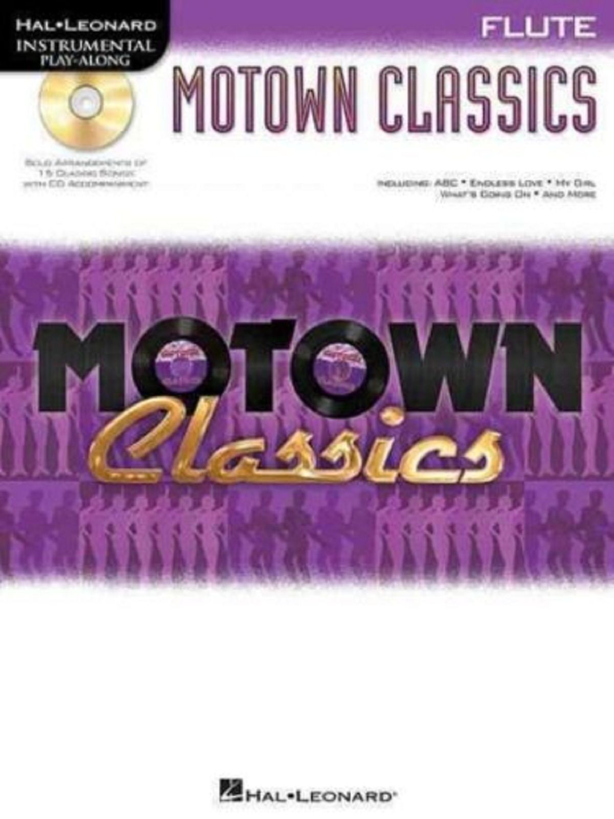 Instrumental Playalong Motown Classics Flute Songs Solo Sheet Music CD Book S123