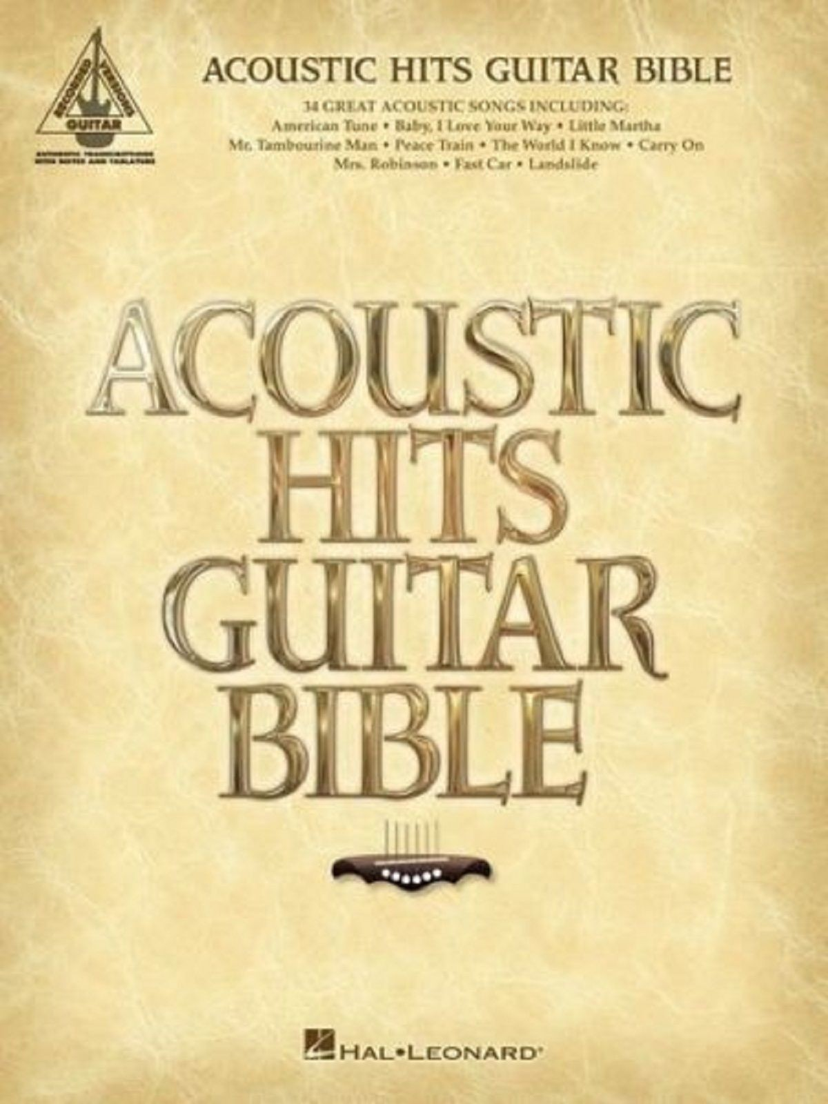 Acoustic Hits Guitar Bible Tab Notes Sheet Music 34 Great Songs Tunes Book S123