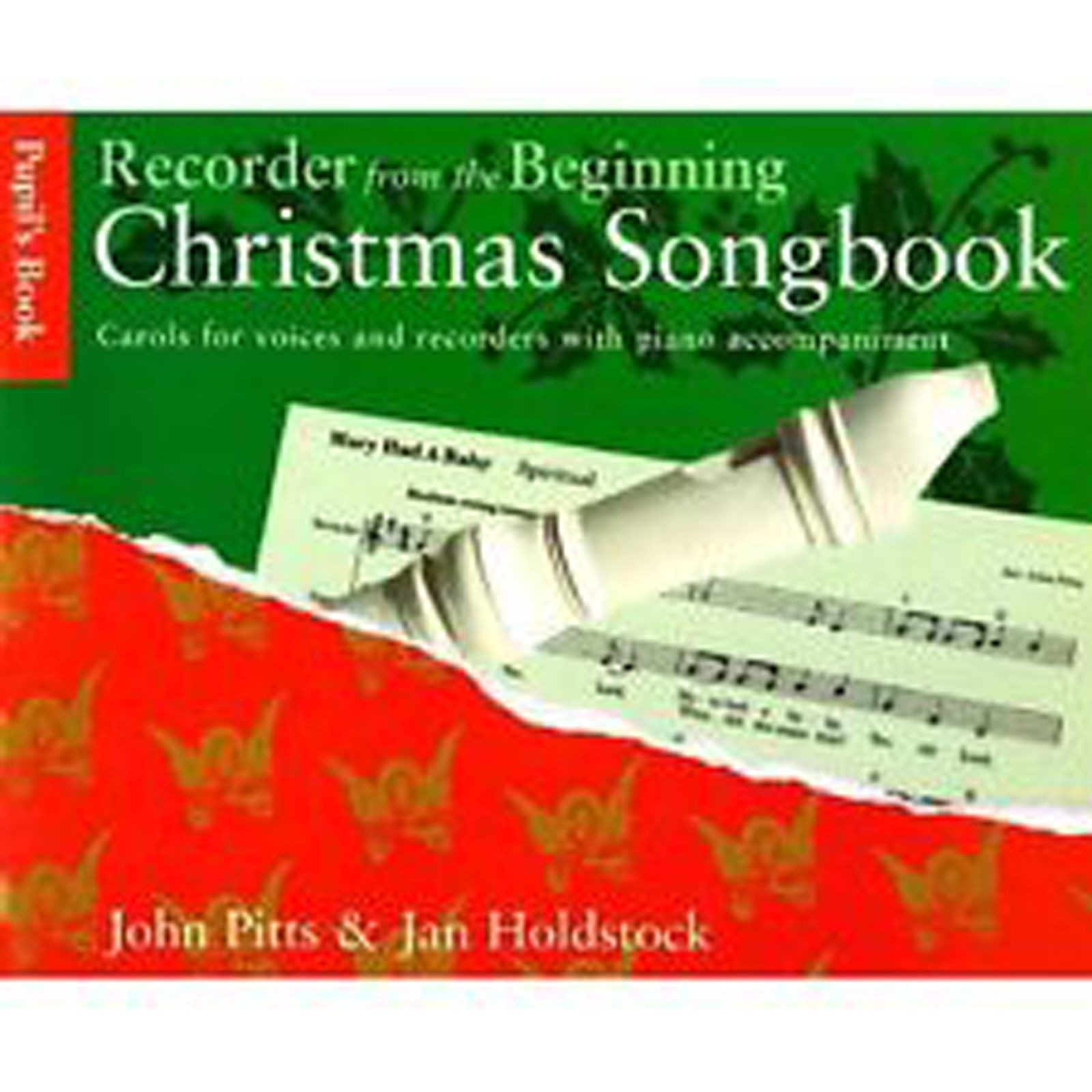 Recorder From The Beginning Christmas Pupil's Songbook Carols Voices S94