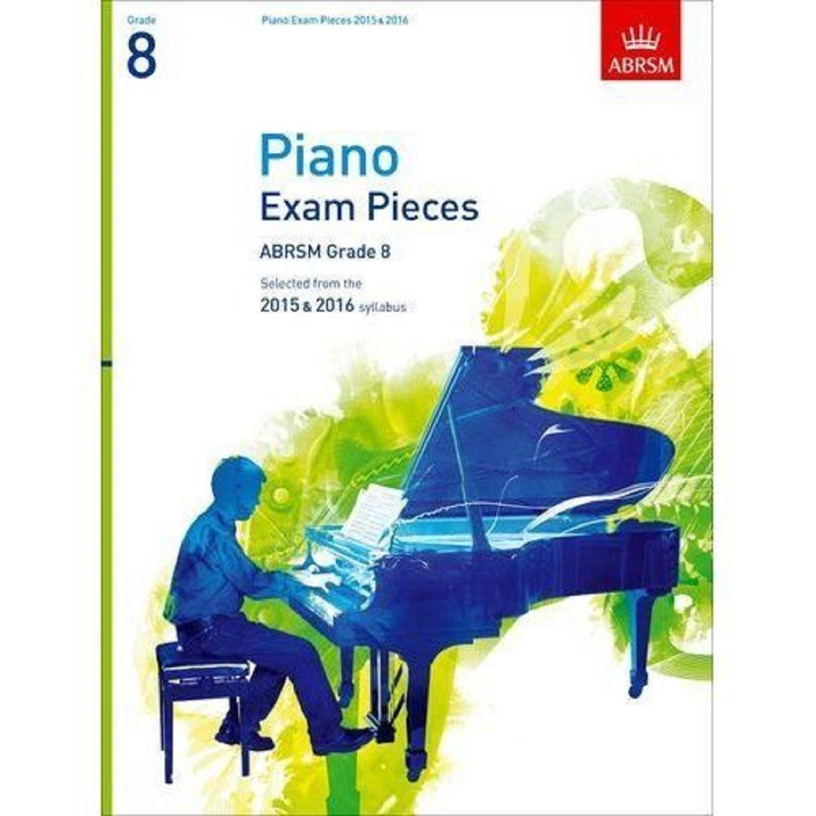 Piano Exam Pieces ABRSM Grade 8 2015 & 2016 Syllabus Book S124
