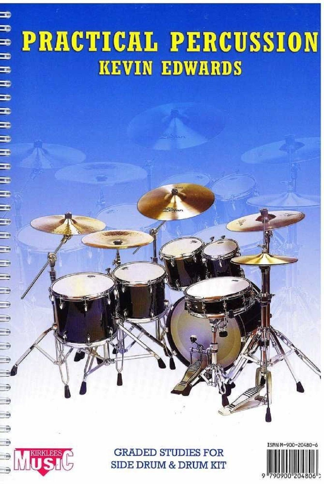 Practical Percussion Kevin Edwards Graded Studies for Side Drum Kit CD Book S113