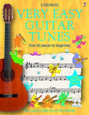 Very Easy Guitar Tunes Beginner Tutor Method Book 50+ Pieces Anthony Marks S116