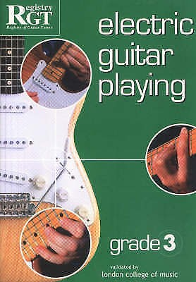 Electric Guitar Playing Grade 3 Tony Skinner Tutor Method Book S117
