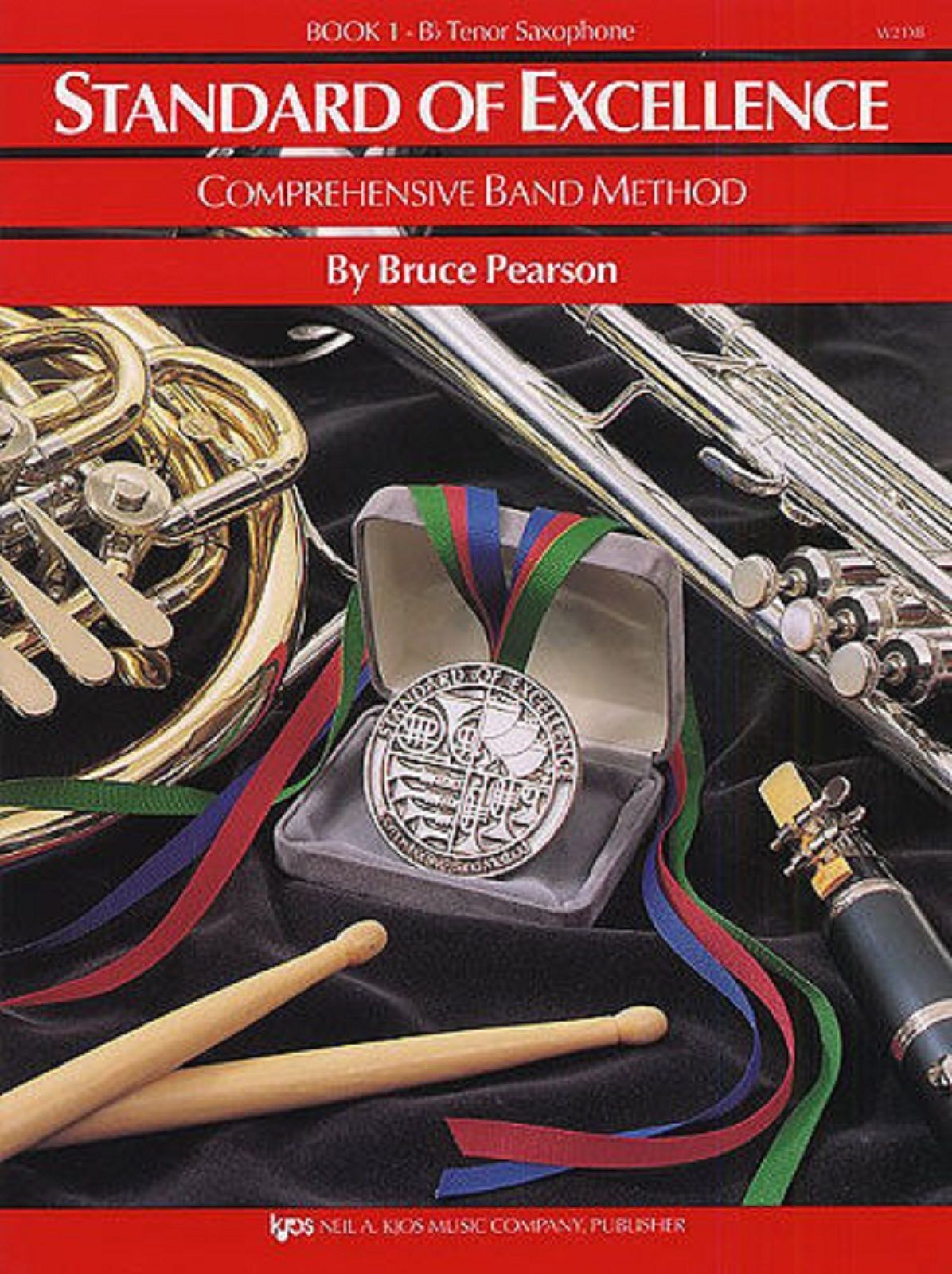 Standard Excellence Comprehensive Band Method Book 1 Tenor Sax Sheet Music S160