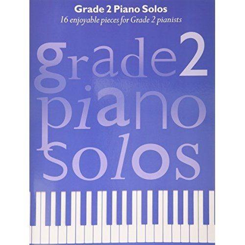 Grade 2 Piano Solos Sheet Music Contemporary Pop Classical Sheet Music Book S160