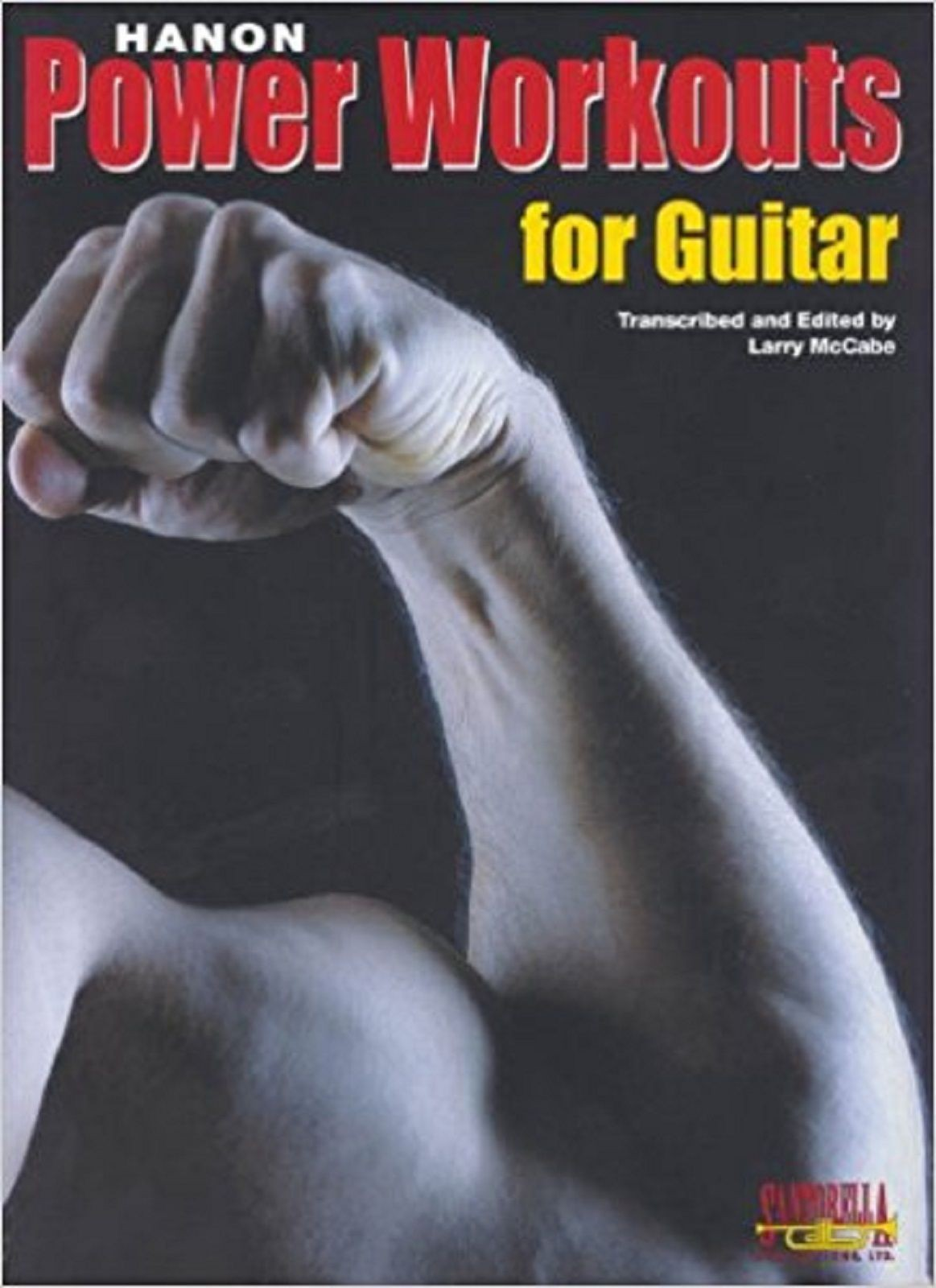 Hanon Power Workouts For Guitar TAB Music Book Larry McCabe Exercises S166