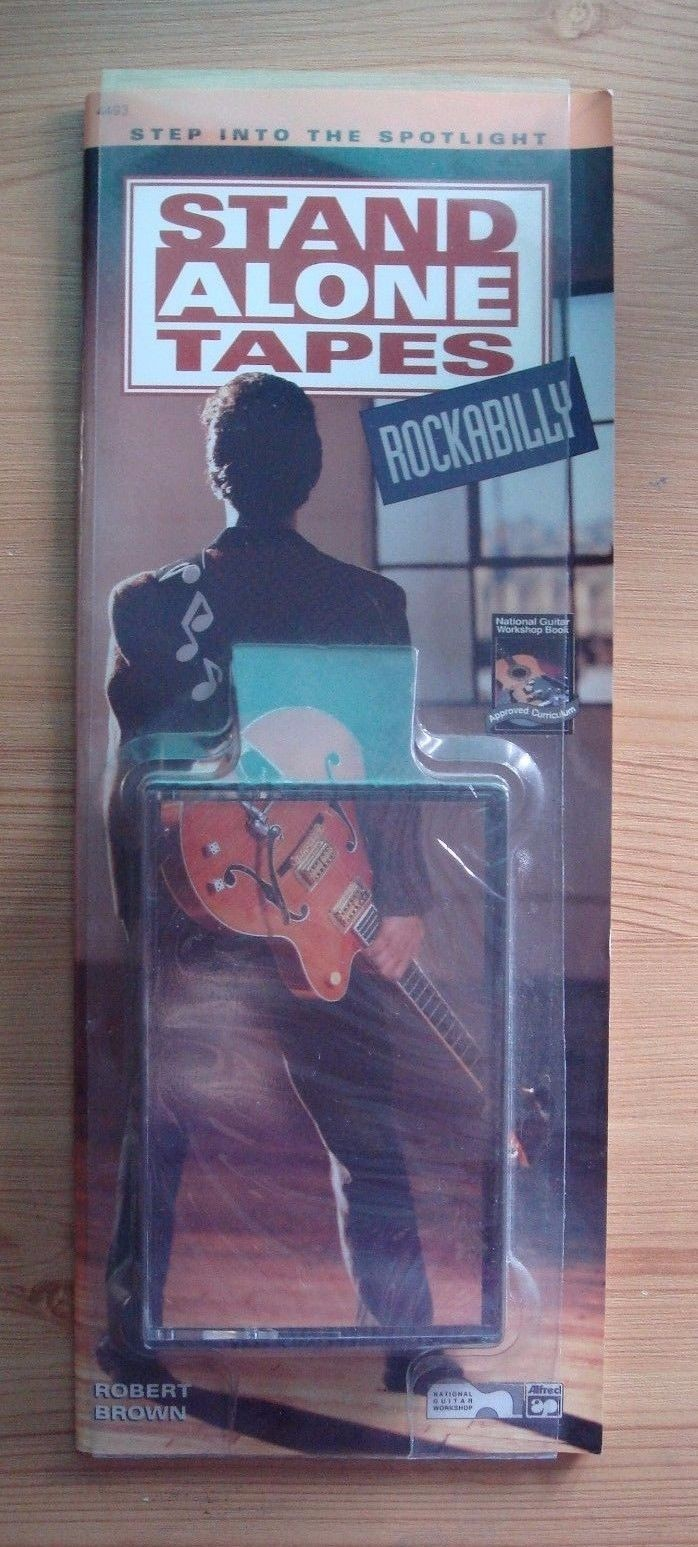 Stand Alone Tapes Rockabilly Tunes Guitar Notes TAB Chords Book Cassette S154