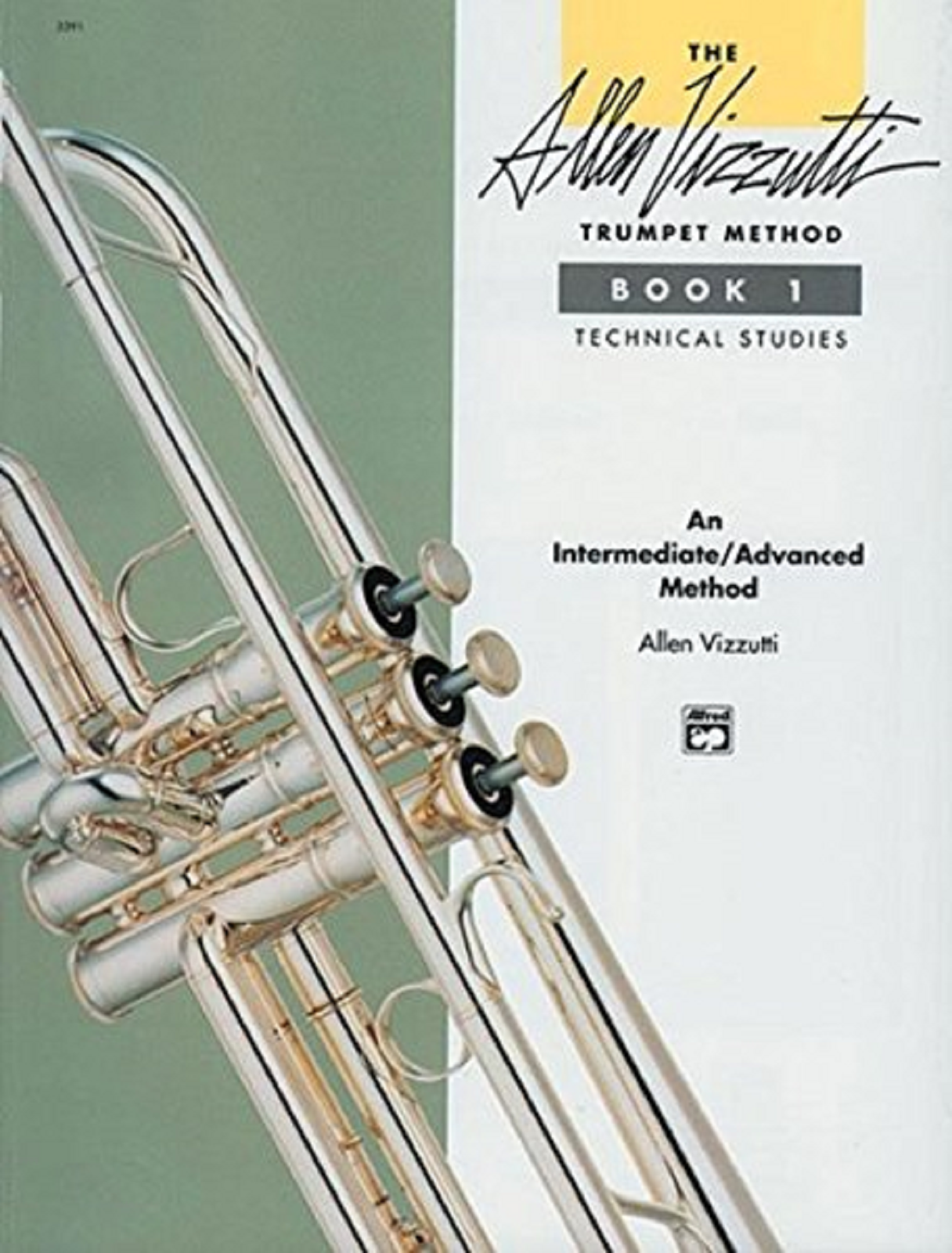 Trumpet Method Book 1 Technical Studies Intermediate Advanced Book Vizzutti S167