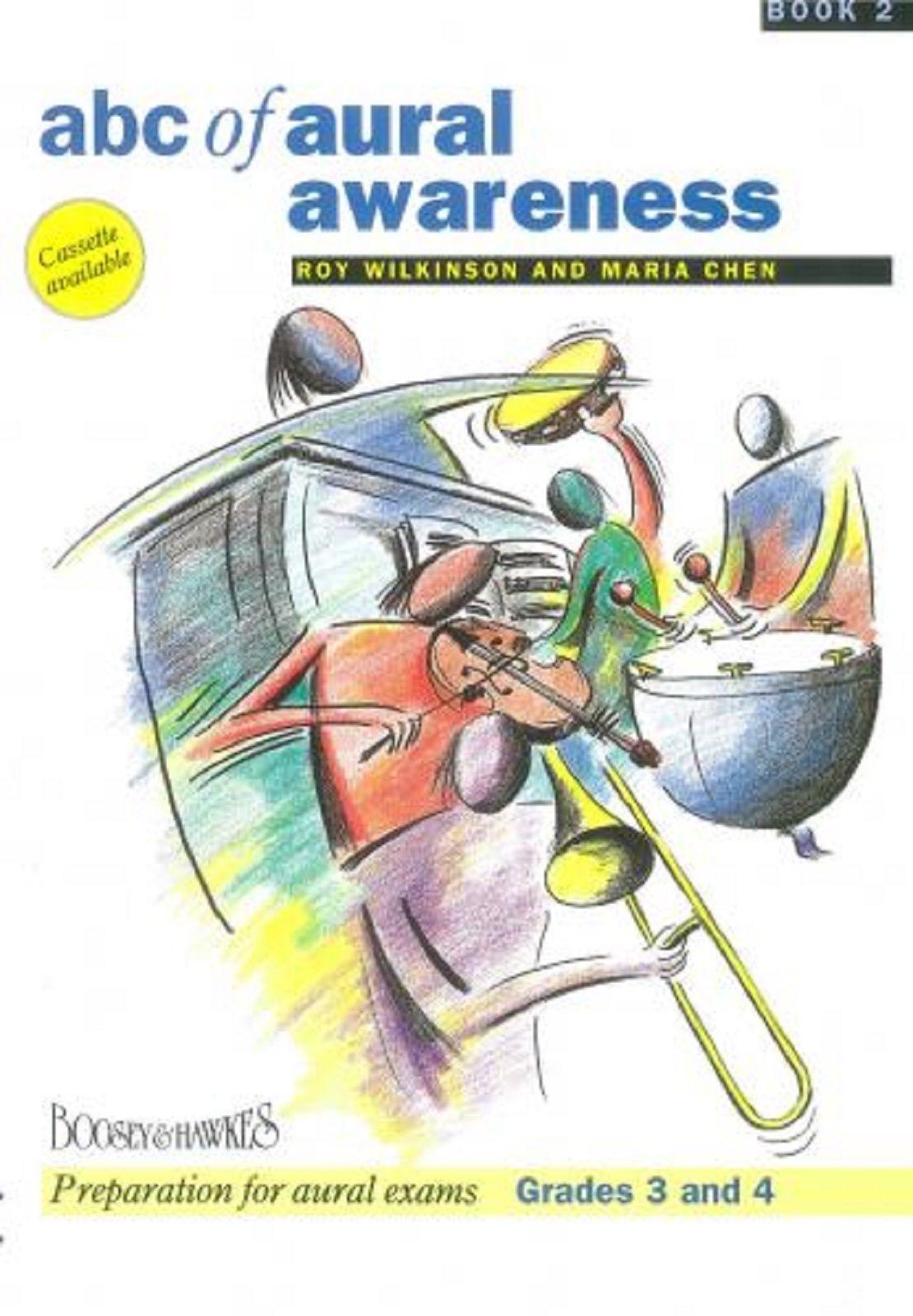 ABC Of Aural Awareness Book 2 Grades 3-4 Preparation Exam Theory  Book S169