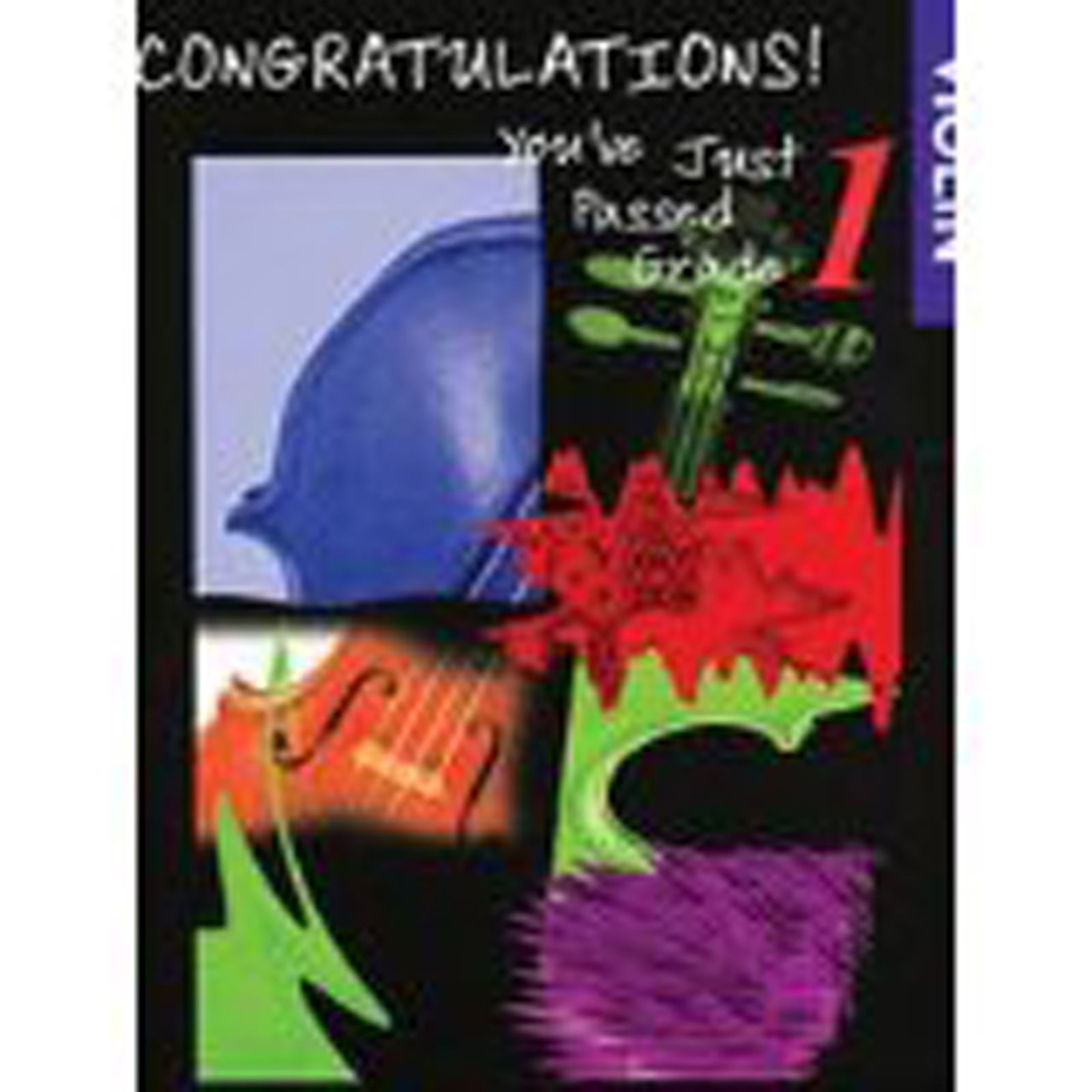 Congratulations You've Just Passed Grade 1 Violin & Piano Book S103