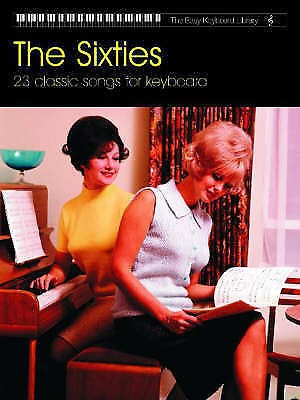 The Easy Keyboard Library The Sixties Book 60s 23 Classic Songs Faber Music B37