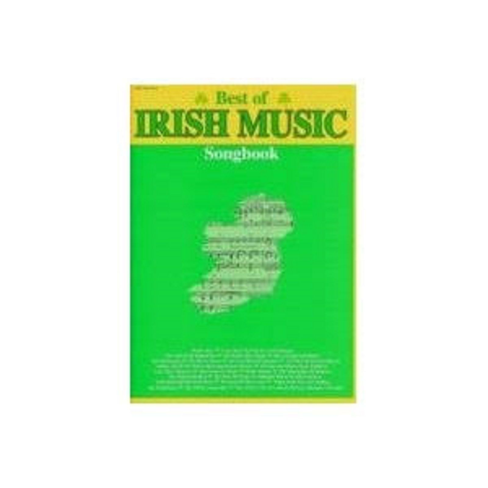 Best Of Irish Music Songbook Sheet Music Piano Vocal Chords Lyrics Book S170