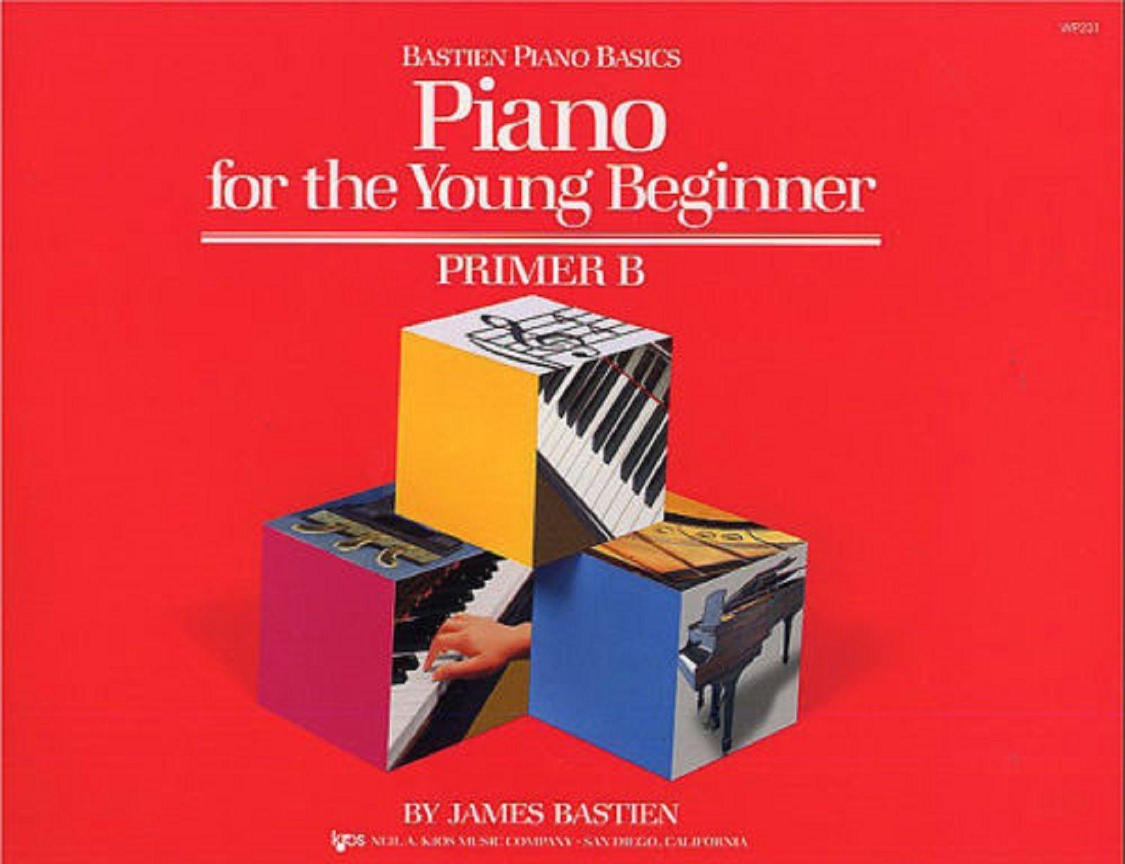 Bastien Piano Basics For The Young Beginner Primer B Tutor Book Progressive S171