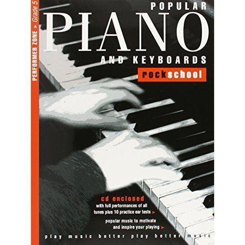 Rockschool Popular Piano and Keyboards Grade 5 2001-2015 CD Book S134