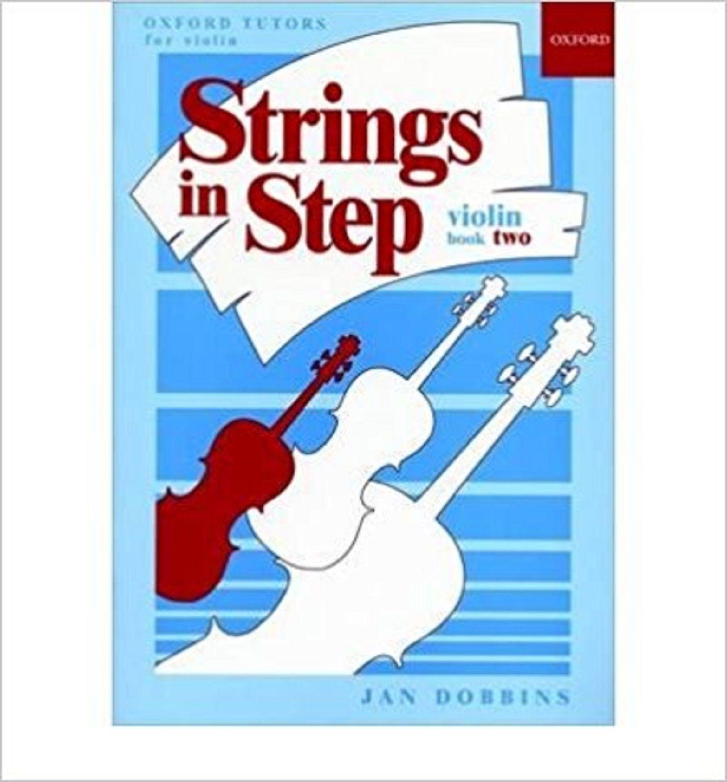 Strings In Step Violin Book 2 Learn How to Play Method by Jan Dobbbins S139