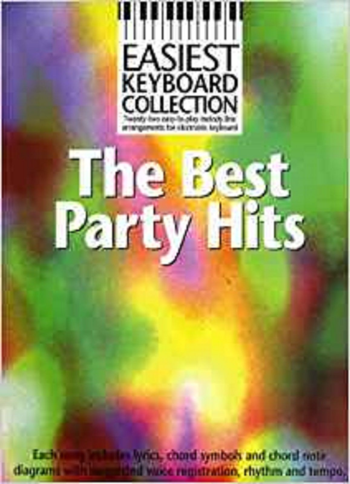 Easiest Keyboard Collection The Best Party Hits Book Sheet Music S141