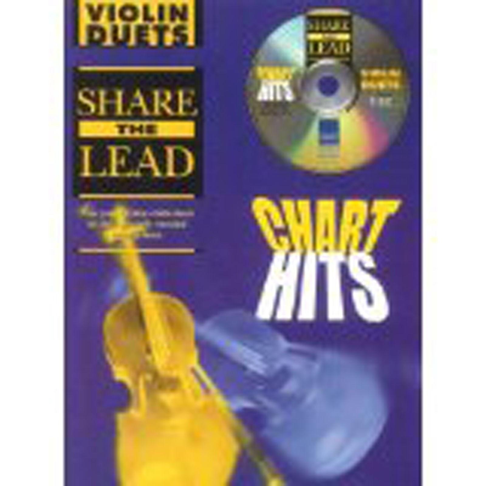Share The Lead Violin Duets Chart Hits Book & Playalong CD B45